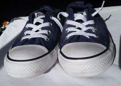 Women's Converse All-Star Chuck Taylor Shoreline Denim Canvas Shoes, Size 8 US #VANS #SkateShoes