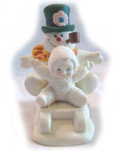 snowbabies figurines | Department Dept 56 Snowbabies Frosty Snowman Figurine | eBay