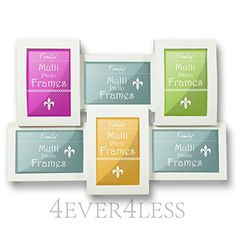 Multi Picture Photo Frame 6 Apertures 3D 6x4 IN Collage WHITE & BLACK Colours - A 4EVERLESS BRAND (WHITE) 4Ever4Less http://www.amazon.co.uk/dp/B00LCDC2AK/ref=cm_sw_r_pi_dp_ndQJvb02W0SHG