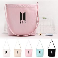 Kpop Bts Love Yourself Canvas Shouder Bag World Tour Cute Mini Satchel Pouch Bag Outstanding Features Novelty & Special Use