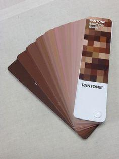 Pantone Skin Tone Guide
