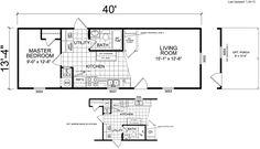 16x40 cabin floor plans our cabin ideas pinterest for 12 x 40 mobile home floor plan