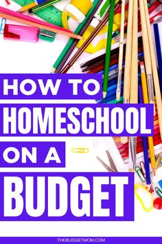 Homeschooling isn't free, but it doesn't have to cost a fortune. Learn seven ways you can homeschool your kids on a budget.  #homeschool via @thebudgetmom Saving Money Quotes, Money Saving Challenge, Money Saving Tips, Budgeting Finances, Budgeting Tips, Ways To Save Money, Money Tips, Budgeting Worksheets, Money Management
