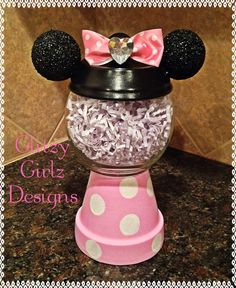 Faux handmade Gumball gum ball machineminnie by GlitzyGirlzDesigns, $12.99