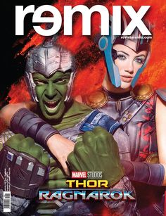 Tapa Remix 230 Thor-Ragnarok | Grego Rossello & Stephanie Demner x Gabriel Rocca