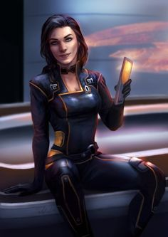 Miranda by Wolnir.deviantart.com on @DeviantArt - More at https://pinterest.com/supergirlsart #lawson #mass #effect #scifi #fanart