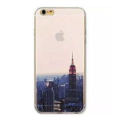 Funda iPhone 6/ 6S de gel translúcida con la imagen de New York, con un diseño de alta calidad. Podrás elegir entre varias imágenes, todas ellas transparentes.