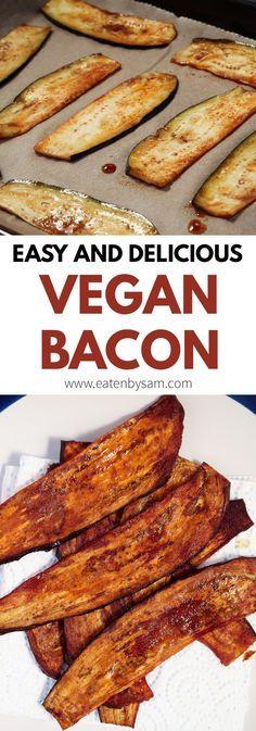 How to make smokey vegan bacon - Eaten by Sam