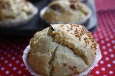 Muffins ai pomdorini secchi