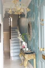 designers guild florimund - Google Search Designers Guild Wallpaper, Hallway Designs, Lifestyle Store, Luxury Homes Interior, Interior Design Companies, Mirror, Google Search, Furniture, Home Decor