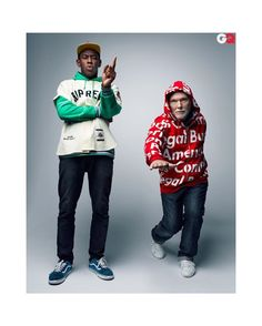 "Strictlypreme on Instagram: ""Tyler The Creator and Glenn O'Brien Talk Supreme (GQ 2012)  Cop this week with @forcecop"" Tyler The Creator, Gq, Supreme, Christmas Sweaters, Instagram, Fashion, Moda, Fashion Styles, Christmas Jumper Dress"