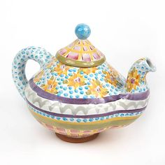 Fran Teapot. Love these dots.  One of my favorite new patterns!