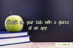 Check on your kids with a glance at an app.  Our mobile app is easy to use. Learn how it works at http://www.amberalertgps.com/products.  #backtoschool #app