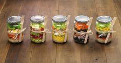 5 Easy, Quick Steps to Making Mason Jar Salads ‹ Hello Healthy