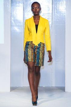 Da Viva collection at Africa Fashion Week London 2012