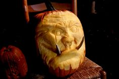 Orc Pumpkin by Joshua T. of Albany, OR