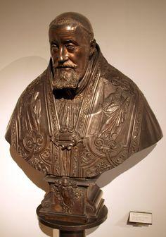 Busto del Papa Gregorio XV (Bronce) - Bernini. Museo Civico Medievale, Palazzo Ghisilardi, Bologna, Italia.