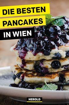 Lust auf Pancakes? In diesen Lokalen gibt es ausgezeichnete Pancakes. #wien Cadbury Dairy Milk, Crepes And Waffles, Pancakes, Restaurant Bar, Nutella, Snack Bar, Vienna, Restaurants, Brunch