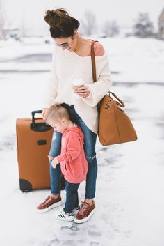 Love traveling with my little