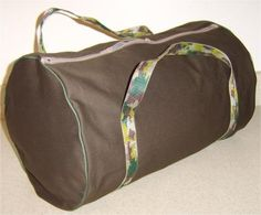Sew Your Own Duffel Bag in 4 Easy Steps: Materials & Cutting Directions Jean legs used for tube??