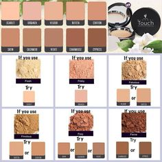 Depending on what shade foundation you use this helps decide which concealer you will need or vies versa ☺️