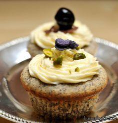 Marzipan-Mohn-Cupcakes *