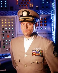 Michael Ironside as Captain Oliver Hudson - SeaQuest 2032 in the 3rd season, '95-'96.