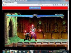 BURACO DO FURACOBACO Hel (YOUTUBE): JOGANDO ONLINE Mortal Kombat vs Street Fighter