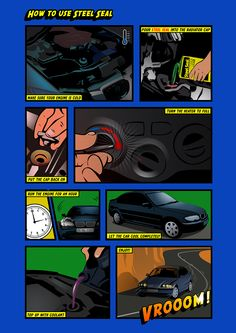 Steel Seal Head Gasket Repair First Info-Graphic! Steel Seal, Radiator Cap, Car Logos, Motor, Being Used, Used Cars, Cool Stuff, Creative, Cup Holders