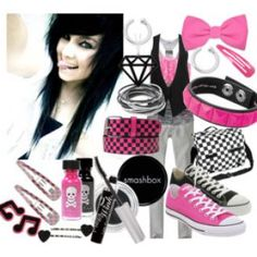 EMO OUTFITS  | Cute scene girl outfits pictures 2