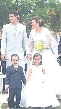 Casamento, formando uma família abençoada por Deus.