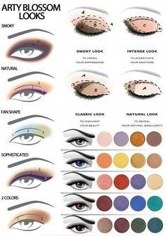 Beauty Make-up Tipps Tutorials Lidschatten 4 - www. - - Beauty Make-up Tipps Tutorials Lidschatten 4 - www. Makeup 101, Beauty Makeup Tips, Makeup Hacks, Skin Makeup, Makeup Ideas, Makeup Products, Easy Makeup, Makeup Inspo, Eyeliner Makeup