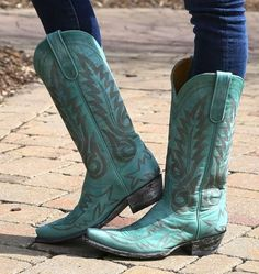 Shop the Old Gringo Nevada Aqua Boot L175-352 at Rivertrail Mercantile.  Enjoy fast and free shipping on all Old Gringo Boots.