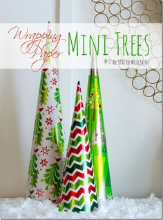 Christmas Craft Idea: Mini Trees