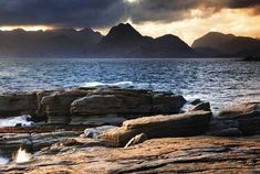 The Red Cuillin (Red Hills), Isle of Skye.