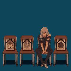 Sad Anime, Manga Anime, Anime Art, Anime Lock Screen, Fanart, Anime Reccomendations, Happy Tree Friends, Image Manga, Manga Games