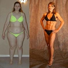 dramatic changes on HCG diet
