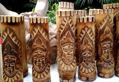 Cane & Bamboo Handicrafts and Products - Kerala Crafts - Coconut Shell Crafts, Bamboo Architecture, Bamboo Crafts, Indian Crafts, West Bengal, Kerala, Pillar Candles, Handicraft, Metal Working