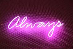 #letreiro #neon #idea #room #always