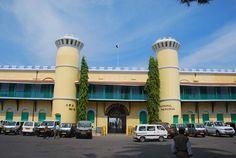 Places to visit in Andaman  Islands Cellular Jail Port Blair - Andaman and Nicobar Islands, India #Andman #Islands #AndmanIslands #travel #tourist #tour #andamanbluebay