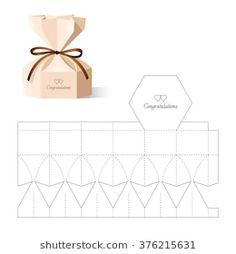 Box Template Images, Stock Photos & Vectors- Box Template Images, Stock Photos & Vectors Retail Box with Blueprint Template - Paper Gift Box, Diy Gift Box, Diy Box, Paper Gifts, Diy Paper, Gift Boxes, Paper Art, Scrapbooking Box, Paper Box Template