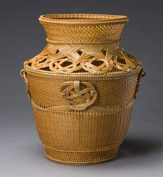 Flower Basket, Treasure Hall, 2006  By Iida Seiseki (b. 1929)