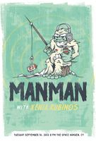 Man Man Poster - The Space, Hamden - Corey Reifinger