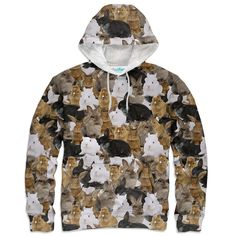 Bunny Invasion Hoodie – Shelfies - Outrageous Clothing