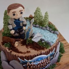 [New] The 10 Best Dessert Ideas Today (with Pictures) - We don't necessarily make a game theme cake but when a customer is persistent enough to request this theme So we apologize for those we said we didn't make cakes prior to this. Fun Desserts, Dessert Ideas, Make A Game, Game Themes, Mobile Legends, Cute Cakes, Peppa Pig, Themed Cakes, Leo