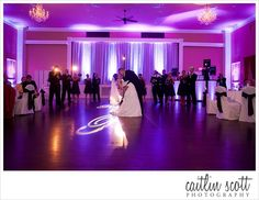 A great reception shot captured by Caitlin Scott photography at The Hamilton Manor