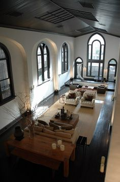 NYC apt. converted church