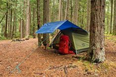 Setting Tent Camping In The Rain Ideas 4 #campingsuppliesdollarstore