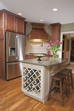 14 best kitchen wine racks images custom cabinets custom closets rh pinterest com kitchen table with wine rack kitchen cart with wine rack