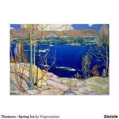 Thomson - Spring Ice Poster
